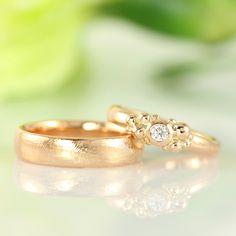 Galleri Castens - Rose gold wedding rings
