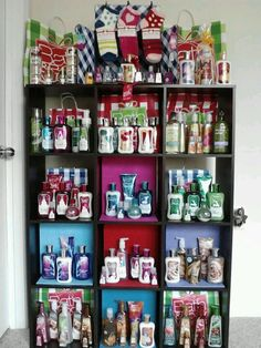 Bath & Body works collection! I want my own :)