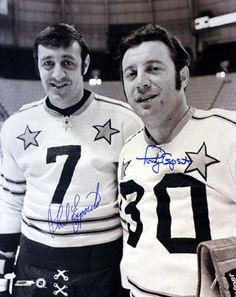 Phil and Tony Esposito, my early hockey heroes. Blackhawks Hockey, Hockey Teams, Chicago Blackhawks, Hockey Stuff, Stars Hockey, Ice Hockey, Phil Esposito, Hockey Rules, The Sporting Life