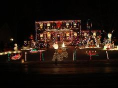 Tacky Lights: 12617 Dawnbridge Court