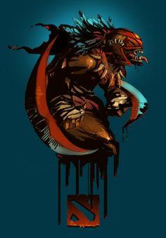 BloodSeeker - Still my favourite hero :P