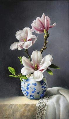 Magnolia by Pieter Wagemans