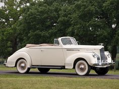 1941 Packard One-Ten Special Convertible Coupe | Car Pictures