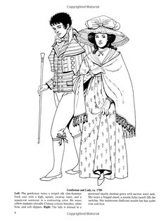 Celtic Fashions Dover Fashion Coloring Book Tom Tierney