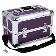 Vanity Beauty Case Professional Make Up Case Box Aluminium Make Up Case Lockable #VanityBeautyCase