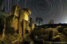 Temple of Apollo - Ancient Corinthos, Greece