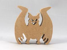 Handmade Wooden Toys, Halloween Bats, Scroll Saw, Wood Toys, Etsy Seller, Etsy Shop, Sandpaper, Ornament Crafts, Creative