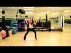 This girl has some good zumba routines! Check out her youtube channel!