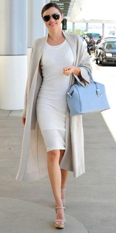 Miranda Kerr takes airport style to a new level