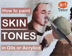 Short video lesson showing you how to mix skin tones in oils (works equally as well for acrylics).