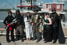 """Photo from the 2014 """"First Annual"""" Big River Steampunk Festival -- Second Annual Festival to be held Sept. 5-7, 2015 in Hannibal, Missouri   www.BigRiverSteampunkFestival.com"""