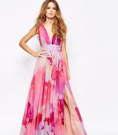 Valencia Pleated Maxi Dress