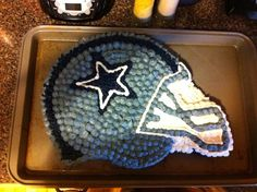 Dallas Cowboys cake I made my husband