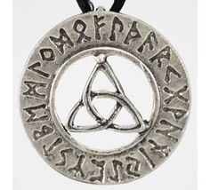 Another new item - We consider all reasonable offers Triquetra Runes Necklace Elder Futhark Maiden Mother and Crone Goddess Celtic Pagan Witchcraft, Wiccan, Magick, Triquetra, Pentacle, Nordic Runes, Witchcraft Supplies, Elder Futhark, Goth Jewelry