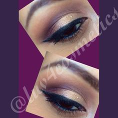 Gold and purple eyeshadow look. Used the Too Faced  chocolate bar palette  makeup!!!!!!!