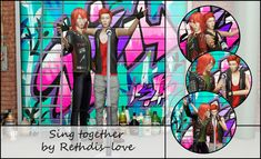 Sing together poses at Rethdis-love Sims 4 Update, Singing, Poses, Fictional Characters, Game, Venison, Gaming, Fantasy Characters, Games