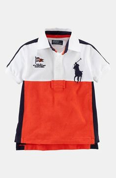 cf33521859 Ralph Lauren Polo (Toddler Boys) available at  Nordstrom Trendy Baby Boy  Clothes