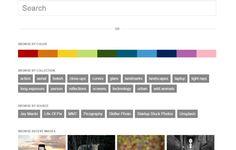 FindAPhoto es un potente buscador de imágenes y fotos libres con múltiples opciones de filtrado: color predominante, dimensiones, contraste de color, etc.