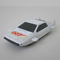 Vintage James Bond 007 Toy Car, 1970s Corgi Junior, Lotus Espirit.