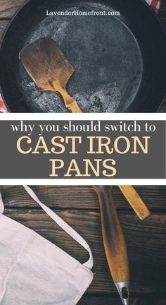 Learn the benefits of cooking with a cast iron pan. This pan last a lifetime and works great for all types of cooking! #castiron #sustainableliving #nontoxic #ecofriendly