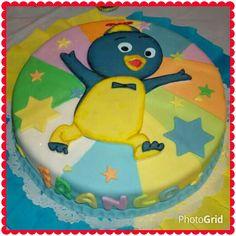 "Torta / cake, decorado con fondant ""Backyardigans (pablo)"""