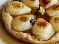 Classic French recipes from renowned chef Michel Roux: Pear tarte tatin, pheasant chartreuse