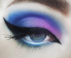 Tie-dye look stila cosmetics. Mermaid Eye Makeup, Mermaid Eyes, All Things Beauty, Beauty Make Up, Beauty Tips, Stila Cosmetics, Eyes Lips Face, How To Tie Dye, Makeup Geek