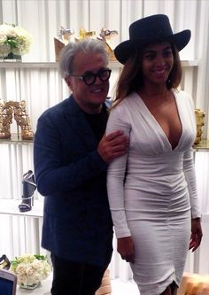 Beyoncé at the Giuseppe Zanotti Beverly Hills Store Opening April 14th, 2015