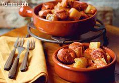 Patatas Bravas Y Chorizo