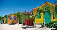 #caribbean #houses #beach