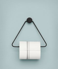 Ferm Living Black Toilet Paper Holder is both beautiful and functional – the perfect accessory for any bathroom. The black stained oak and black metal give the toilet paper holder a timeless look. Black Toilet Paper Holder, Paper Towel Holder, Toliet Paper Holder, Paper Holders, Loo Roll Holders, Contemporary Toilets, Toilette Design, Wall Mounted Toilet, Minimalist Furniture