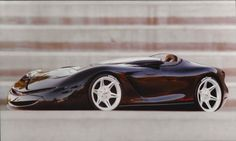 My Corvette 1/5th scale model at Art Center College of Design 1992