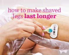What if you could shave your legs less often and still enjoy that silky-smooth leg feeling? Click to read these top tips on how to make your shave last longer!