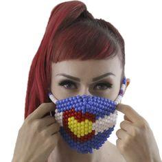 Colorado Love Kandi Mask Surgical by Kandi Gear
