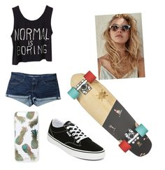 """""""Summer"""" by natnahil on Polyvore featuring moda, Vans, Topshop y Sonix"""