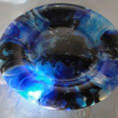 Blue Moon Platter Plate Bowl