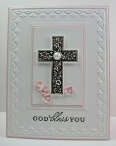First Communion Card-image Confirmation Cards, Baptism Cards, Christening Card, First Communion Cards, Christian Cards, Get Well Cards, Mothers Day Cards, Copics, Sympathy Cards