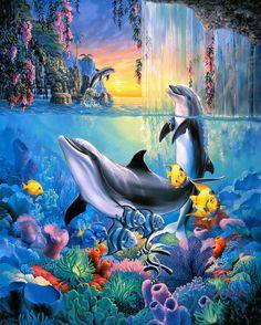 Sherry Vintson. Dolphin Falls