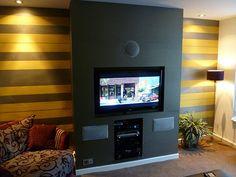 Bildergebnis für wall mount tv on chimney breast