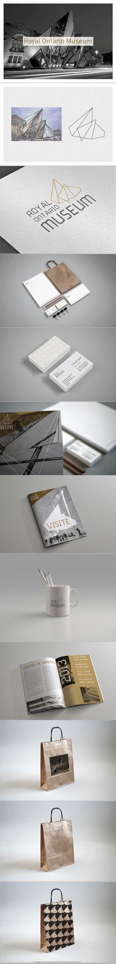 J'aime idée de prendre la forme du bâtiment pour une marque caracterisée par ses locaux