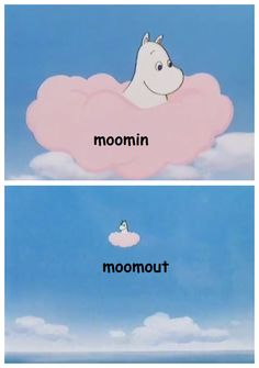 Moomin when he sees wierd fan art of him and his friends. Moomin Wallpaper, Funny Cute, Hilarious, Moomin Valley, Tove Jansson, Little My, Reaction Pictures, Looks Cool, Just In Case