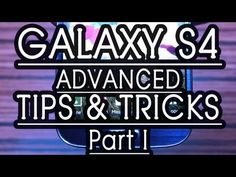 Samsung Galaxy S4 TIPS and TRICKS, HELPS  Part 1, Review by Gadgets Portal