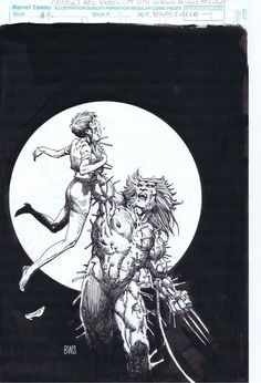 Original Comic Art titled Barry Windsor Smith Weapon X Cover - MCP located in Malvin's The Wolverine Comic Art Gallery Comic Book Artists, Comic Artist, Comic Books Art, Hq Marvel, Marvel Comics, Character Drawing, Comic Character, Team 7, Fantasy Paintings