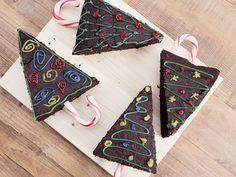 DIY-Anleitung: Weihnachtsbaum-Brownies backen via DaWanda.com