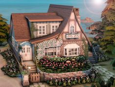 The Sims, Sims Cc, Sims 4 House Plans, Sims 4 House Building, Animal Crossing, Sims 4 House Design, Sims 4 Characters, Sims 4 Cc Packs, Sims 4 Build