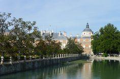 Palacio Real de Aranjuez junto al río Tajo