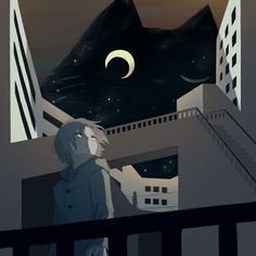 Loneliness adds beauty to life. It puts a special burn on sunsets and makes night air smell better. Anime Kunst, Anime Art, Pictures With Deep Meaning, Sun Projects, Dark Art Illustrations, Arte Obscura, Deep Art, Japan Illustration, Sad Art
