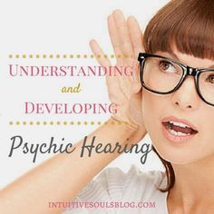Clairaudience means psychic hearing. It& one of the four types of intuitive gifts. Learn all about it, including how to know if you have this gift. Are Psychics Real, Best Psychics, Psychic Powers, Psychic Abilities, Psychic Predictions, Clairvoyant Readings, Love Psychic, Online Psychic, Psychic Development