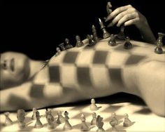 """""""Every man needs a woman when his life is a mess, because just like in a game of chess; the queen protects the king. """""""