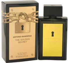 The golden secret from the design house of antonio banderas is one secret youll want to share. Launched in 2011 for the man who seeks a daring fragrance that celebrates his inner champion, the golden secret is the liquid epitome of success. It features a masculine medley of notes that instill confidence with every spritz, including leather and cedar with a kick of spicy black pepper and nutmeg. A kick of apple liquor lends this scent a dynamic, vital touch.